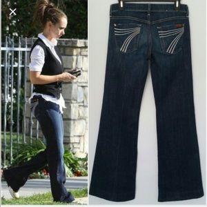 7 for all mankind DW Dojo Wide Leg Jeans Flare